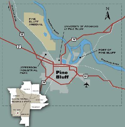Pine-Bluff-Arsenal-location
